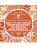Eau de fruits - Kir royale