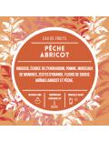 Eau de fruits - Pêche abricot
