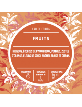 Eau de fruits - Orange sanguine